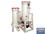 GKD High pressure 2 towers filtration system(For activated carbon)